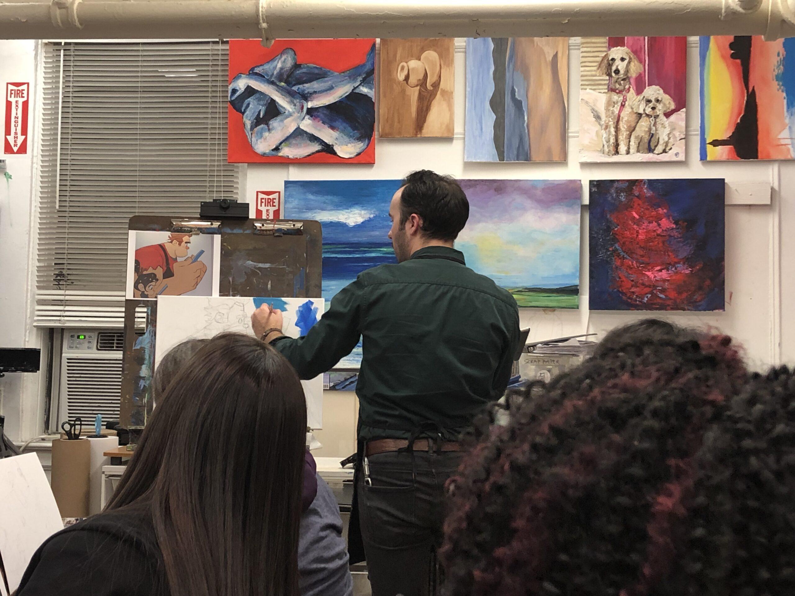 Ralph Breaks the Internet Art Class + Giveaway