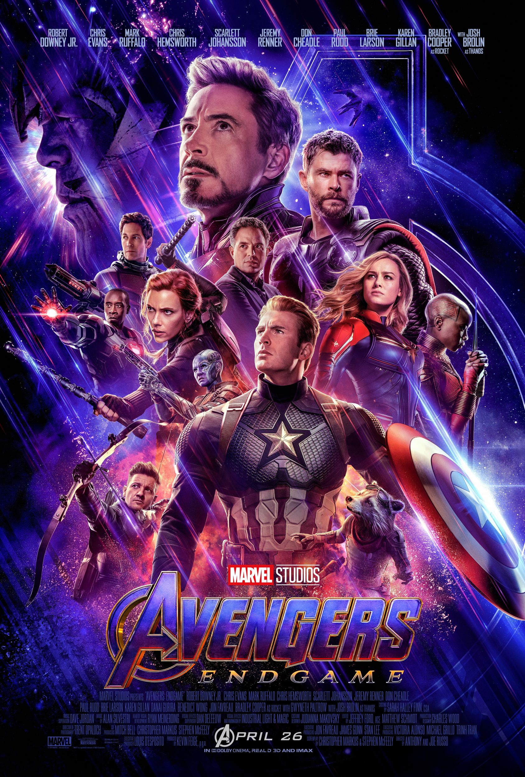 We Finally Have an Official Trailer for Avengers: Endgame!!