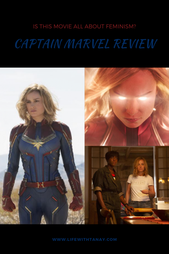 captain marvel feminist