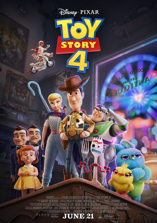 First Official Full Length Trailer for Toy Story 4