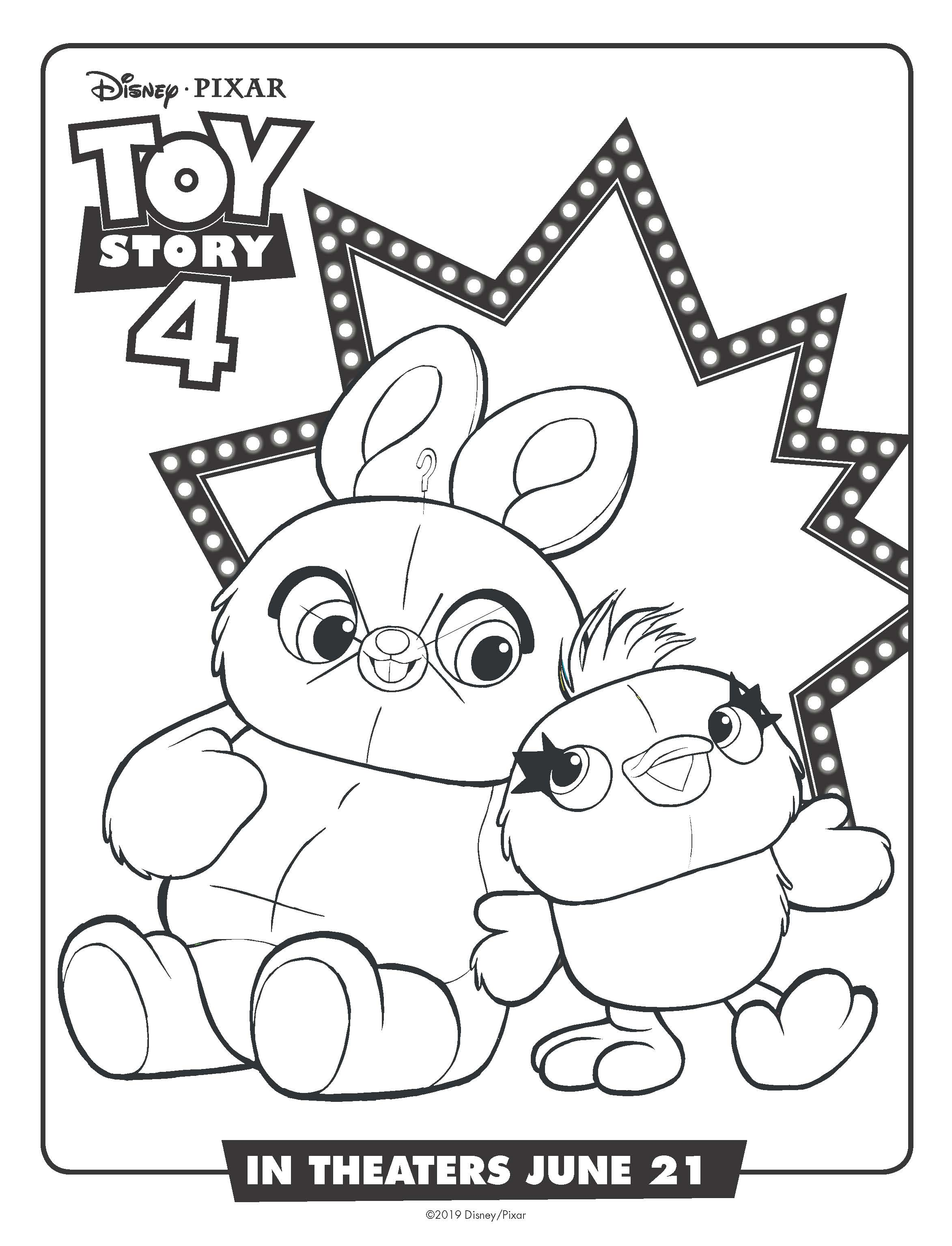 10+ Free Toy Story 4 Coloring Pages and Printables ...