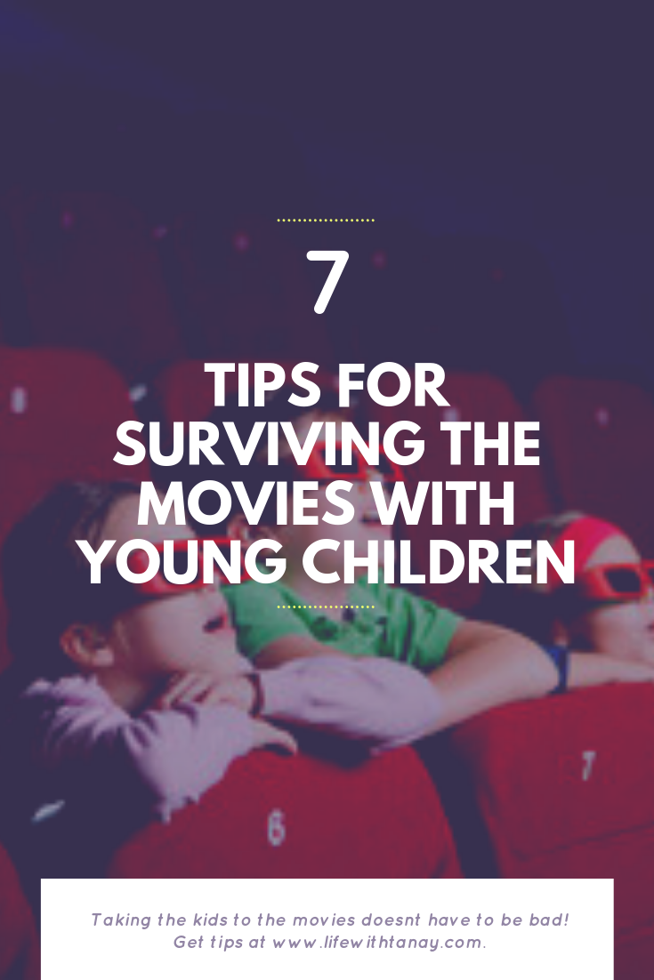 tips for the movies with young children