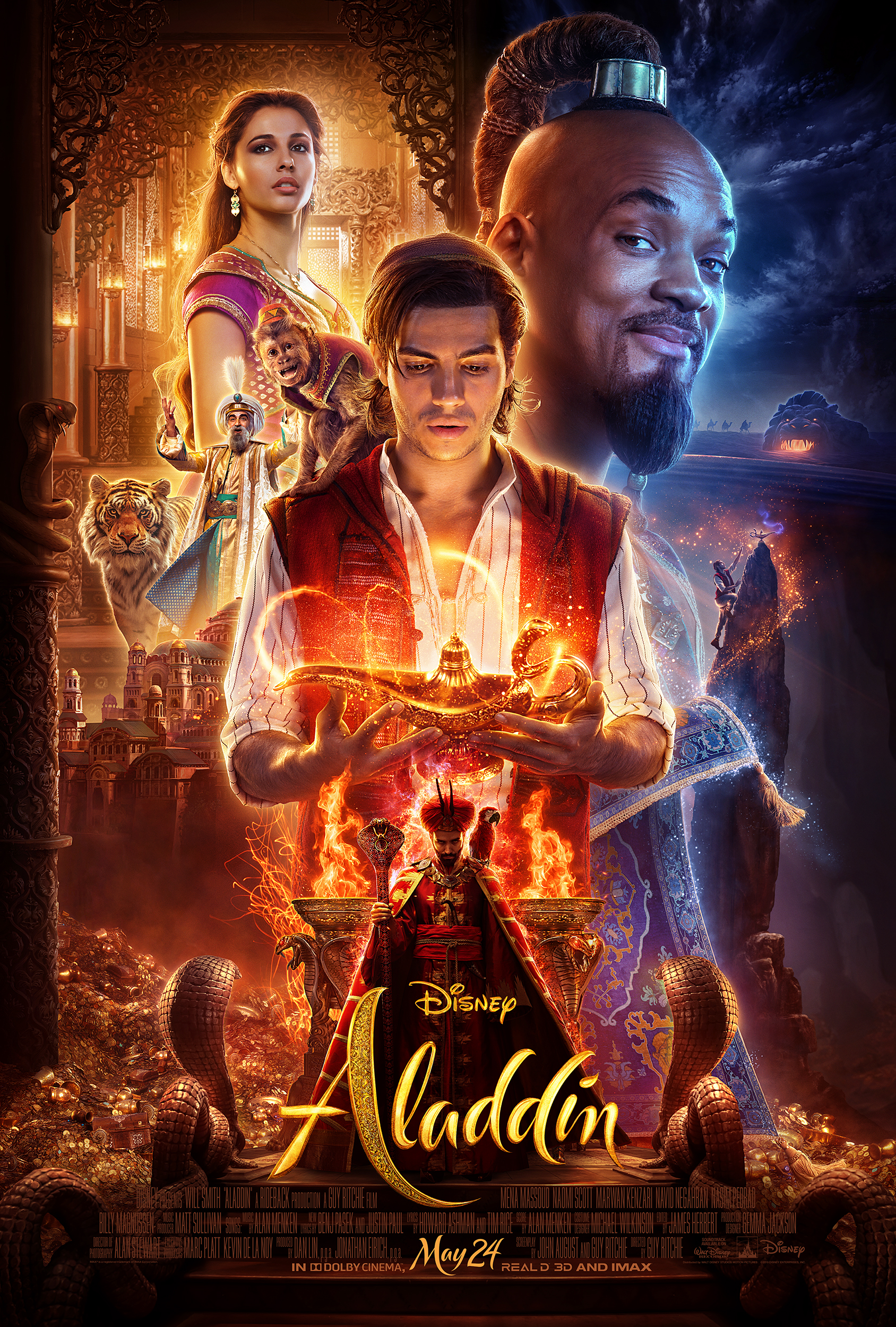 Is Disney's Live Action Aladdin Appropriate for Young Children? A No Spoiler Review!