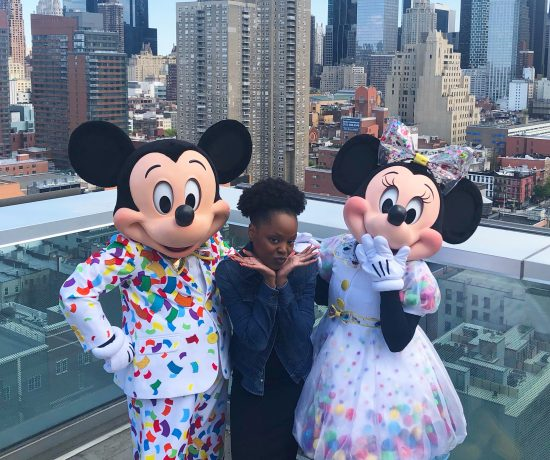 mickey & Minnie at disney social media celebration