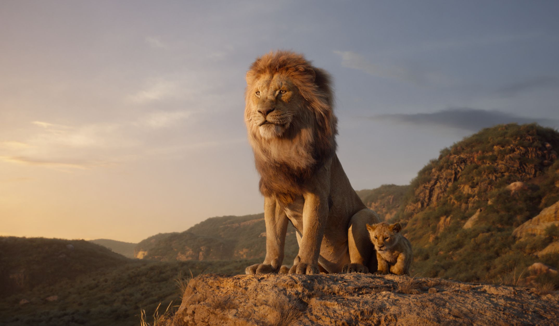 Jon Favreau Releases New Promo Images for The Lion King
