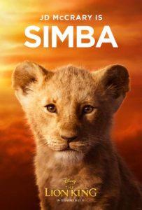 young simba - The Lion King