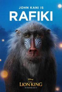 Rafiki - The Lion King