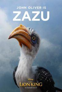 Zazu - The Lion King