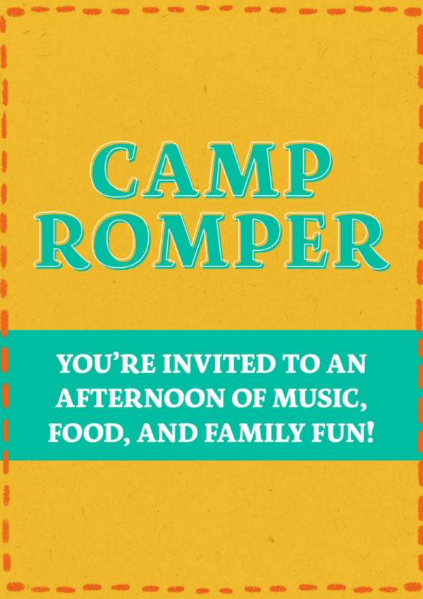 The First Ever Camp Romper Festival is Coming to Brooklyn, NY!