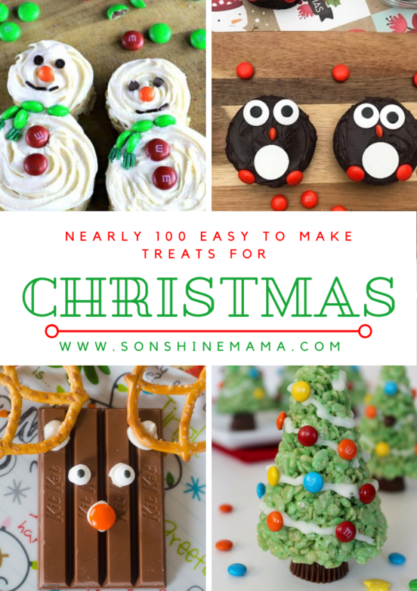 Nearly 100 Easy to Make Christmas Treats Worth Trying