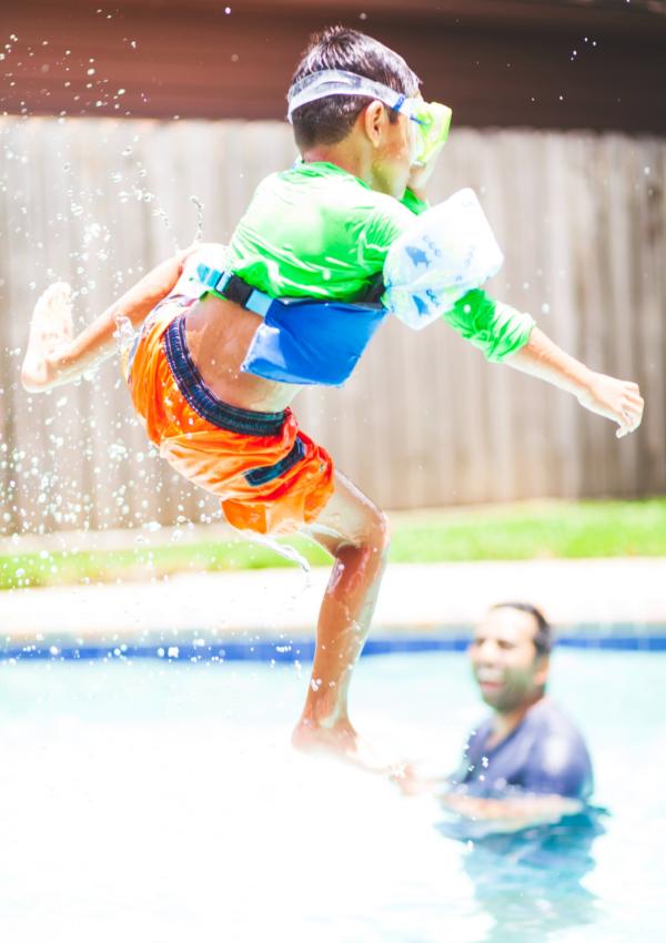 12 Video Game Inspired Swim Trunks For Your Little Gamer!