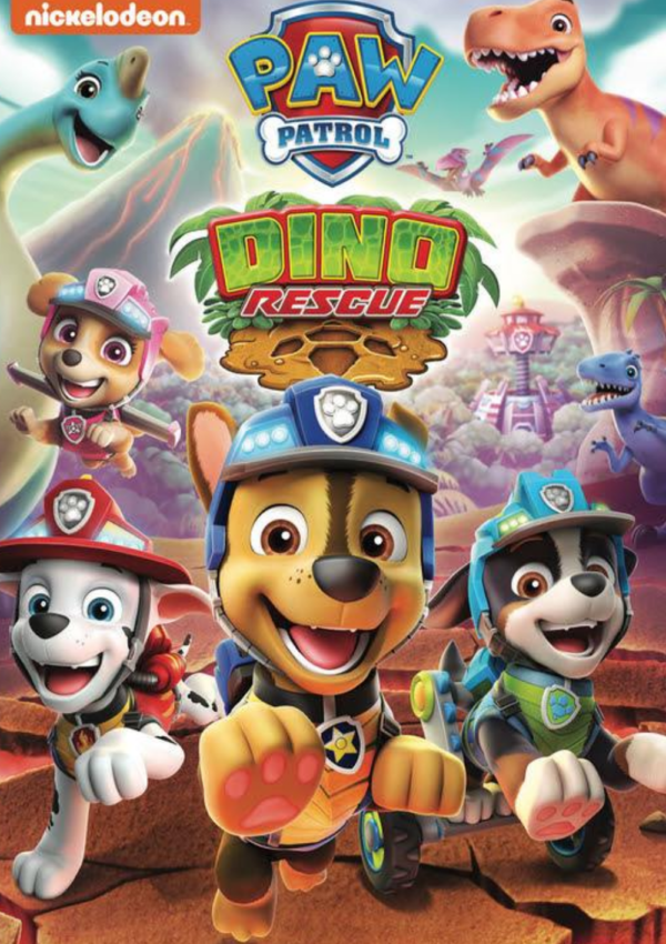 paw patrol dino rescue dvd cover