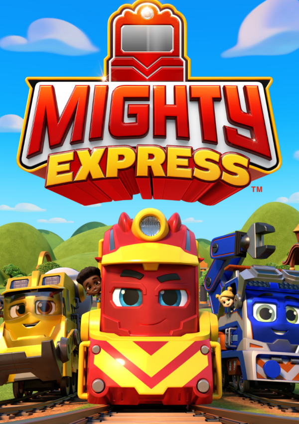 Spin Master's Mighty Express Has Rolled into the Station (Netflix)!