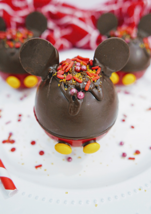 Mouseketeers Will Love These Mickey Mouse Hot Cocoa Bombs
