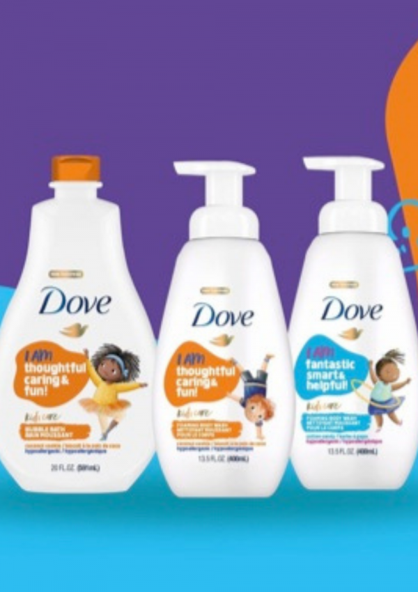 Teaching Kids the Power of Positive Affirmations with Dove Kids Care