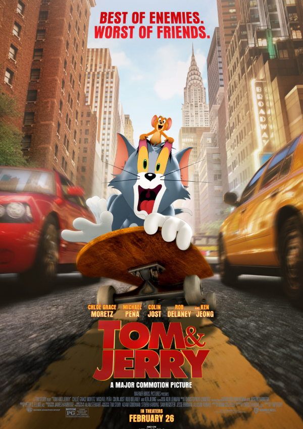 Tom and Jerry is Family Fun Made for Theaters!
